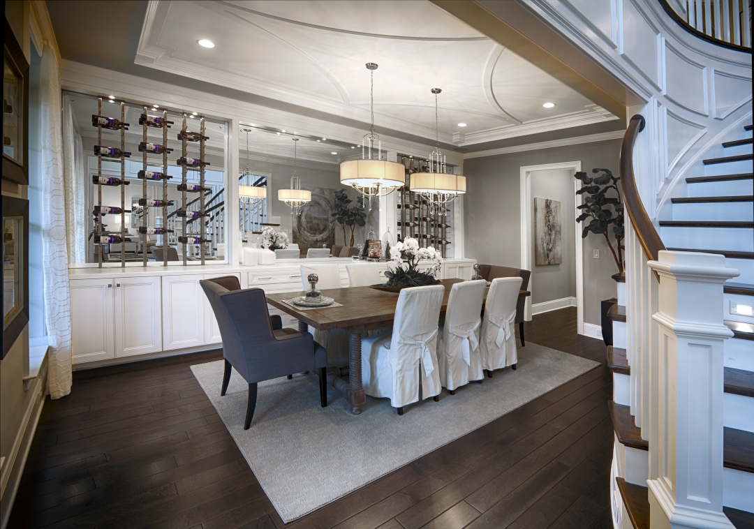 Toll Brothers Hollister Dining Room
