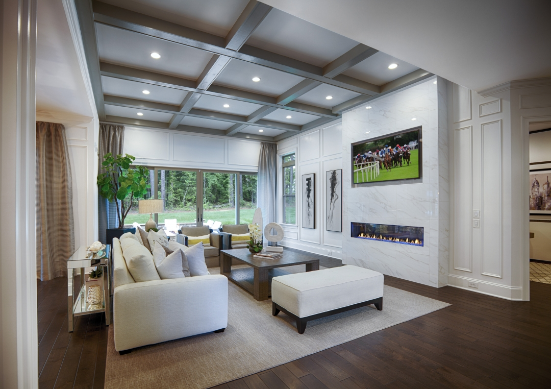 Toll Brothers Hollister Family Room