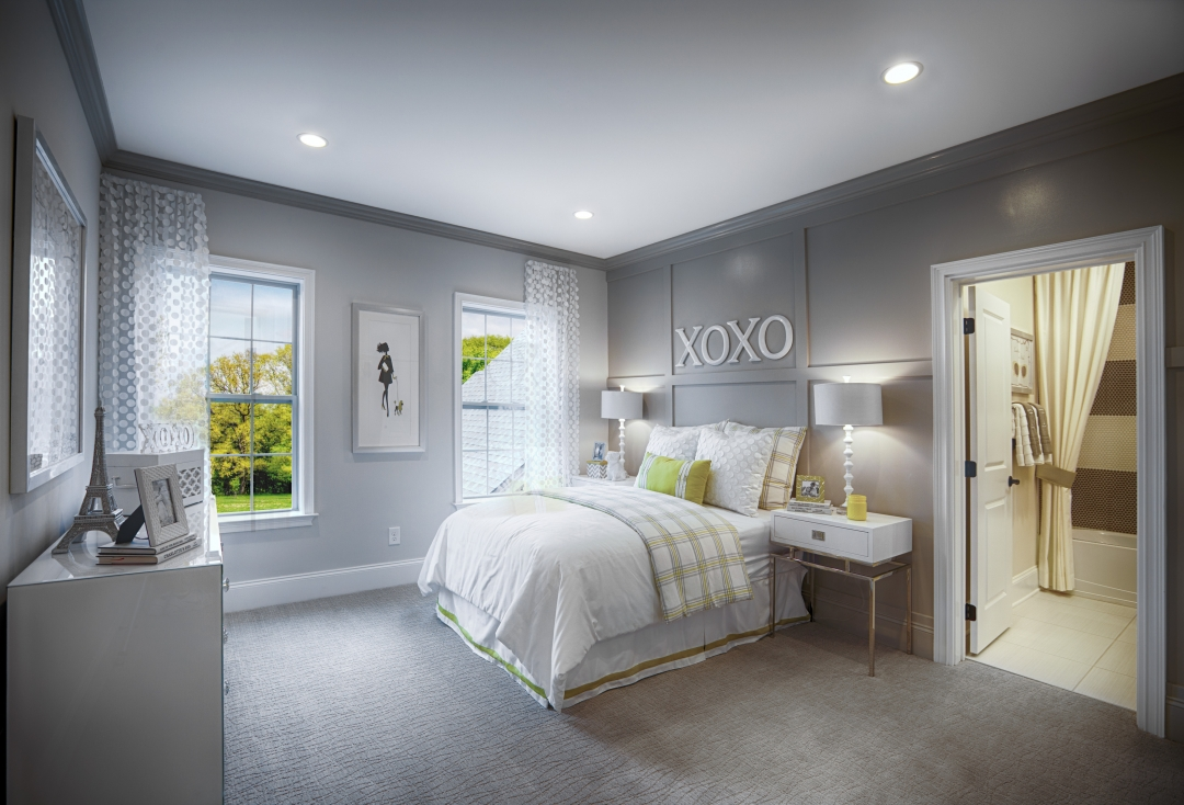 Toll Brothers Hollister Guest Bedroom
