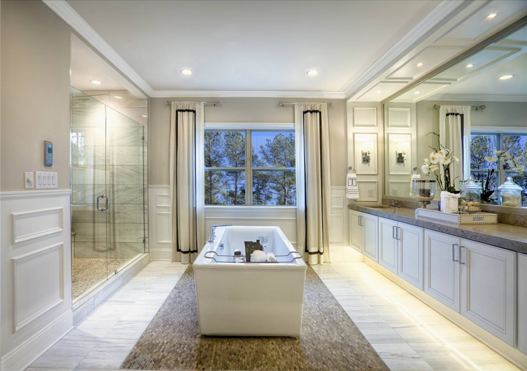 Toll Brothers Hollister Master Bath